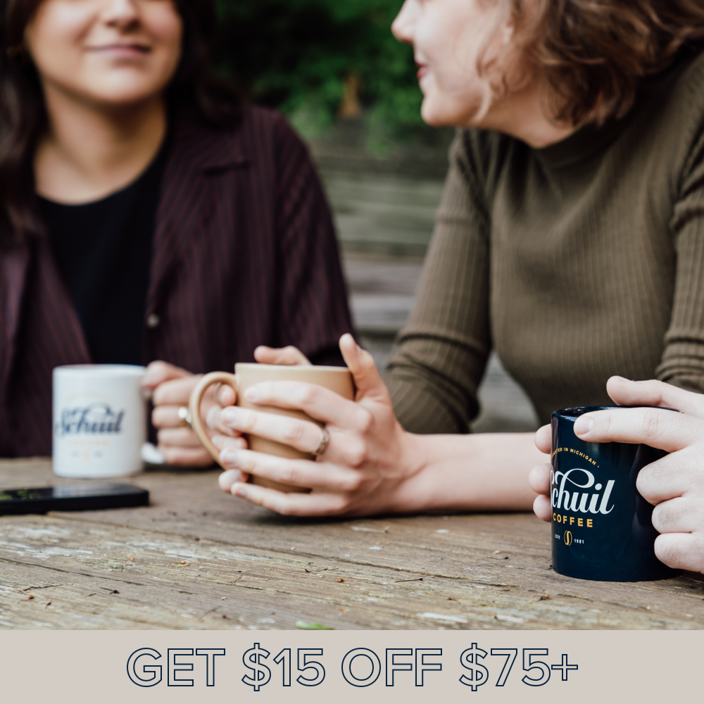 Schuil Coffee Get $15 Off $75+ Mobile