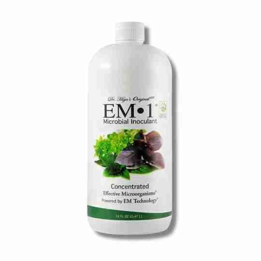 EM-1 Microbial Inoculant Soil Health Plant Health Foliar