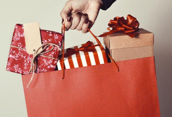 Cadeautjes shoppen.