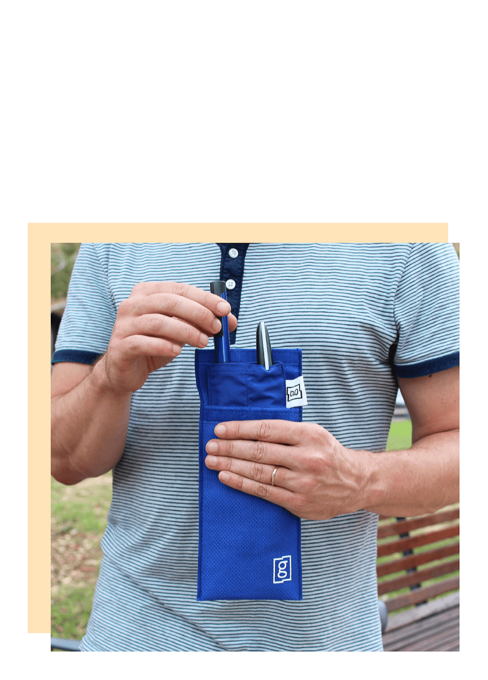 Glucology cooling pouch