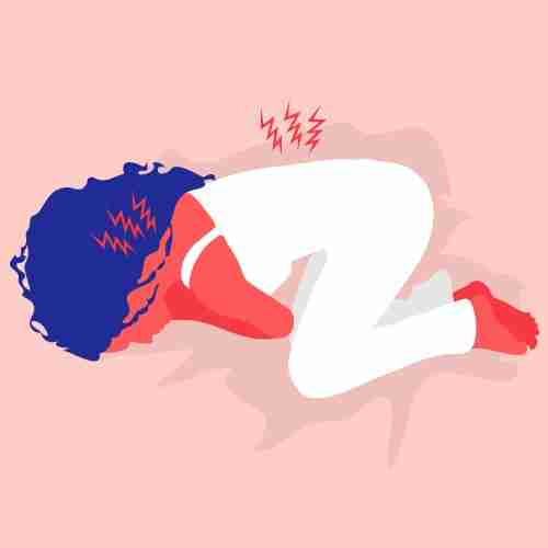 Sleeping like a fetus puts an intense strain on your back and neck, may cause wrinkles, and it not advised if you have asthma.