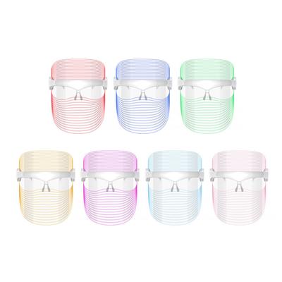 7 color led face mask