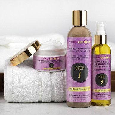 Hello Gorgeous Hair Care System (For Tight Curls + Coils)