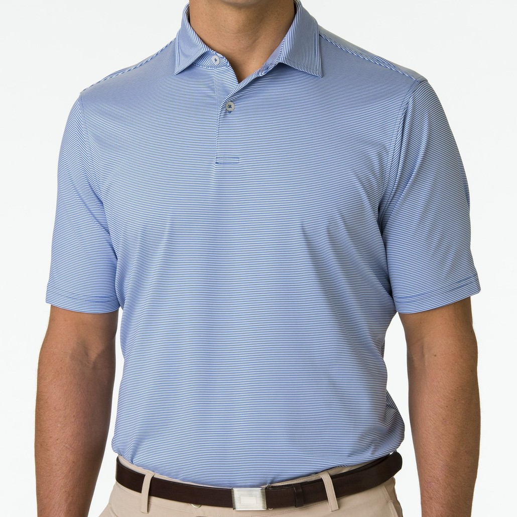 F&G Polo - USA Mini Stripe Jersey