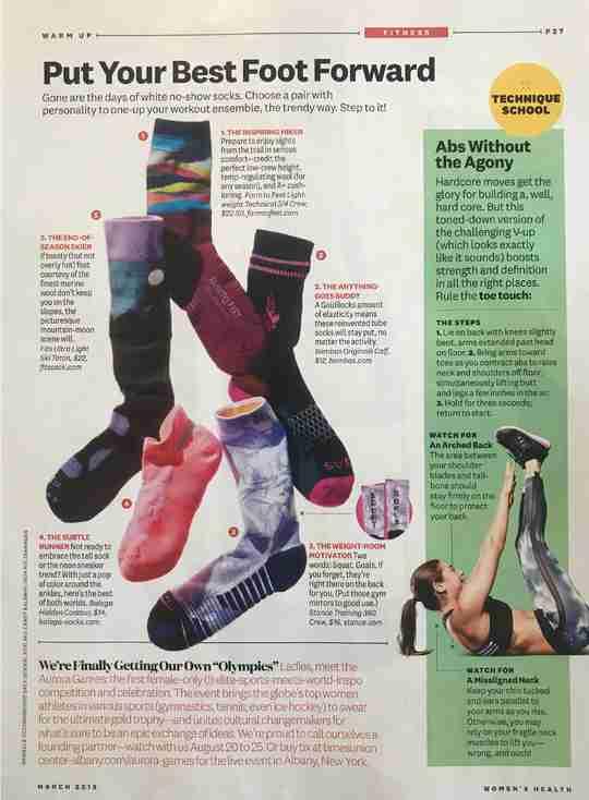 Women's Health - Put Your Best Foot Forward