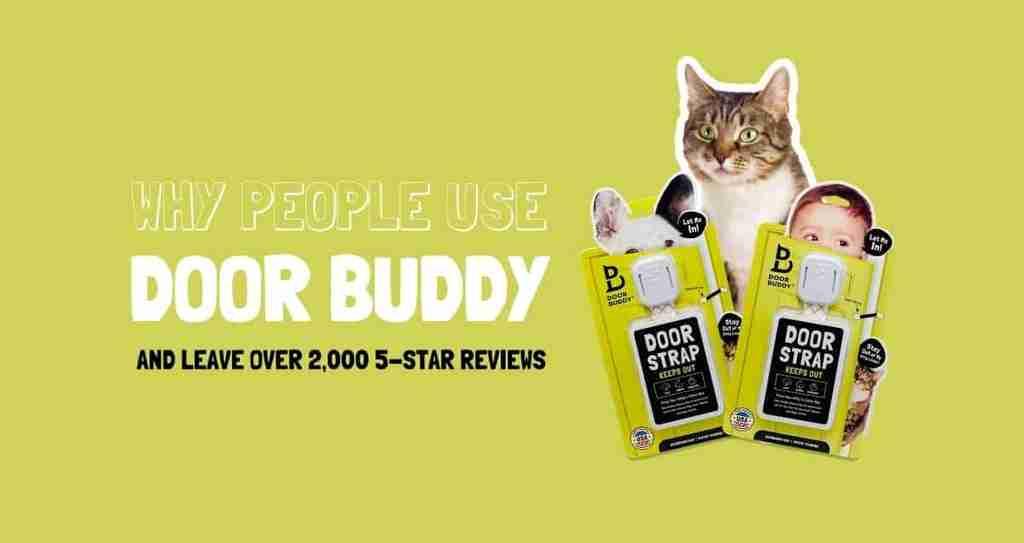 why use door buddy adjustable cat door strap