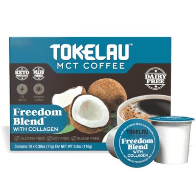 Keto Coffee - Freedom Blend coffee pods1