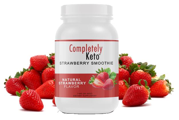 1 Tub of Completely Keto™ Strawberry Smoothie