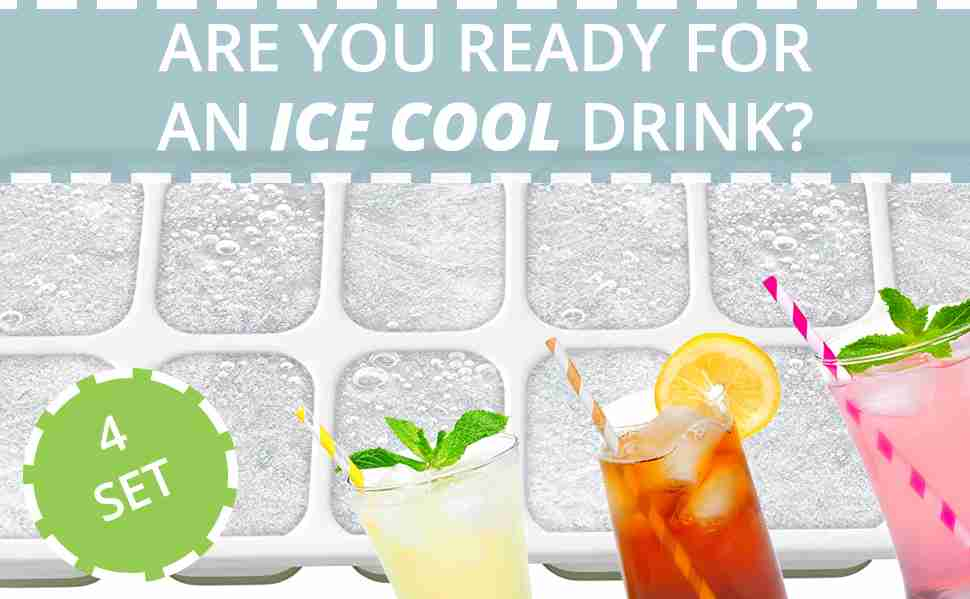 Are you ready for an ice cool drink? 4 Set