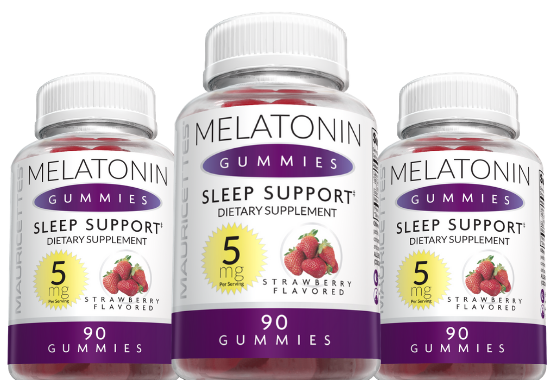 Melatonin Gummies from Mauricettes