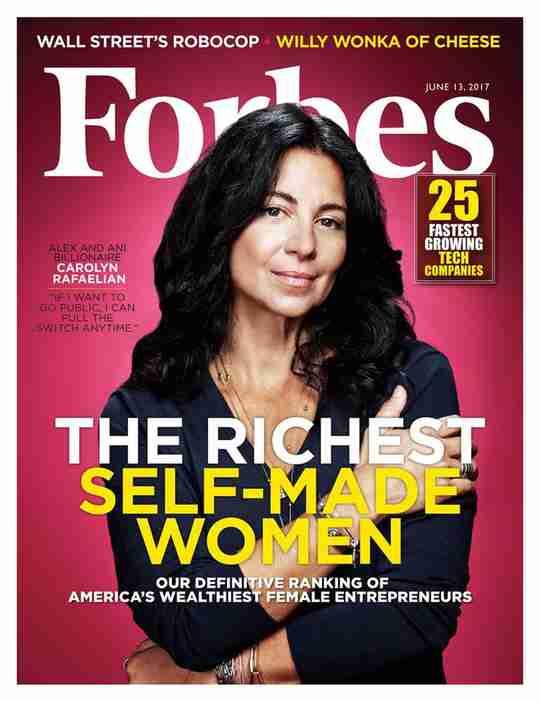 Carolyn Rafaelian Forbes Cover