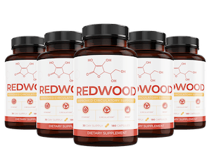 6 bottles of Redwood