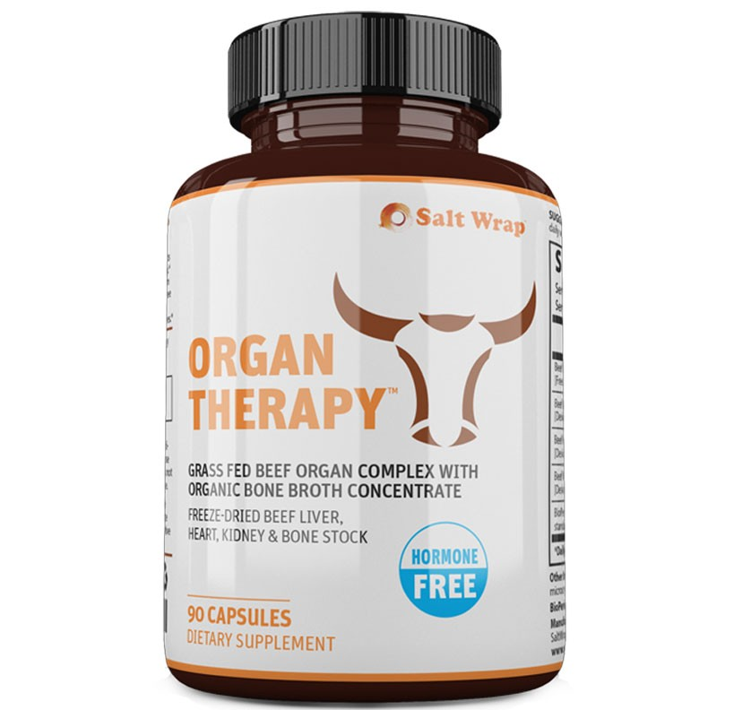 Organ Therapy - Grass-Fed Beef Organ Complex with Beef Bone Broth, Liver, Heart, Kidney Freeze Dried