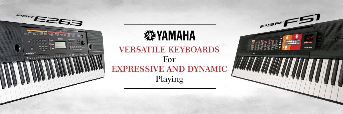 Shop Exclusive Yamaha Keyboards Guitars Online In India