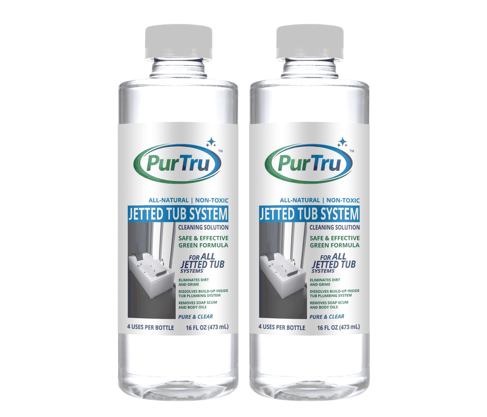 Jetted Tub System Sanitizing and Cleaning Solution (2 Pack)