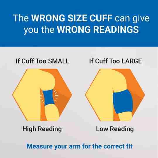 Lifesource Cuff Sizing
