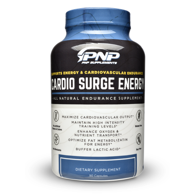 Cardio Surge Energy an endurance supplement for endurance athletes and CrossFit.
