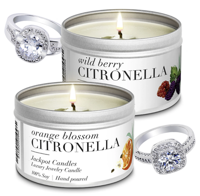 Luxe Summer Citronella Candles