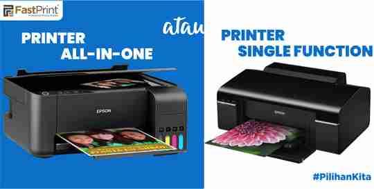 printer single function, multifungsi, printar all-in-one, tips sebelum membeli printer, printer serbaguna