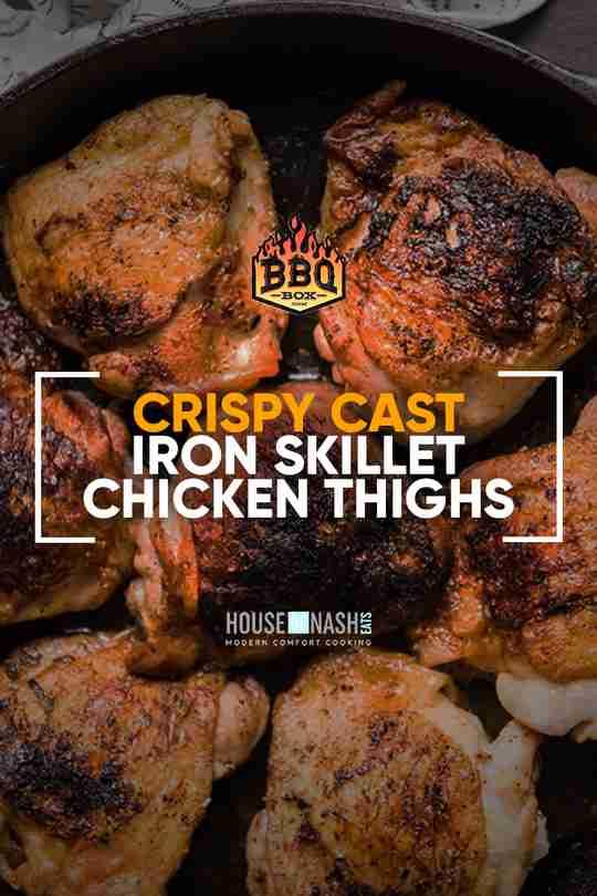 Crispy Cast Iron Skillet Chicken Thighs