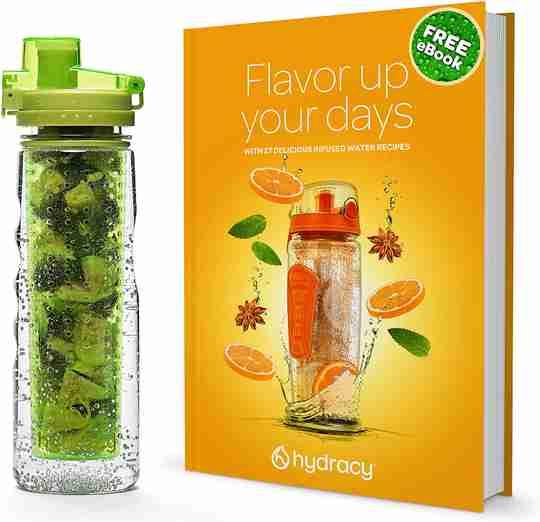 Infuser Water Bottle 25oz - Lime Green - Ebook