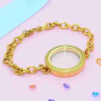 Sparkling Dream Locket Bracelet