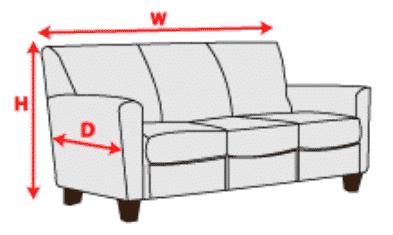 mesurer canapé punaise de lit