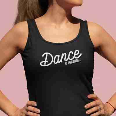 Dance Is Essential Racerback Tank