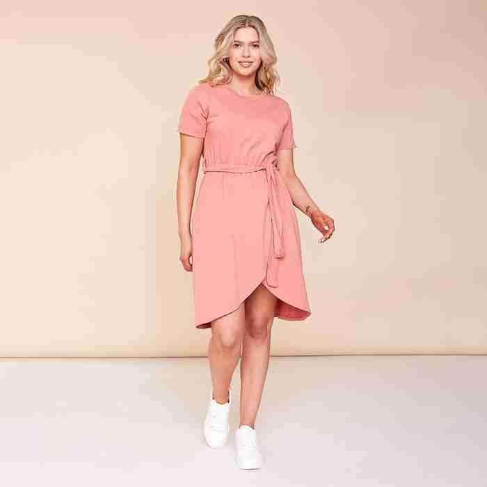 Peyton Dress (Dusty Rose)