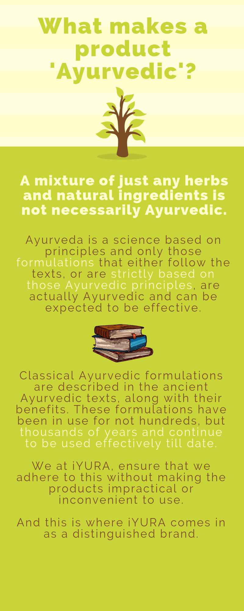 What makes a product Ayurvedic?