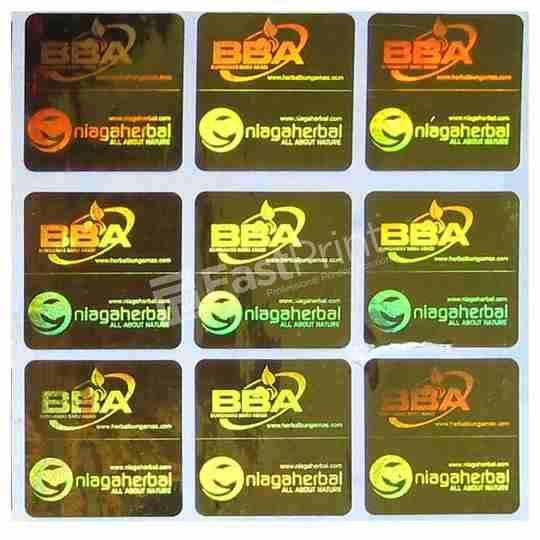 stiker 2D fast print