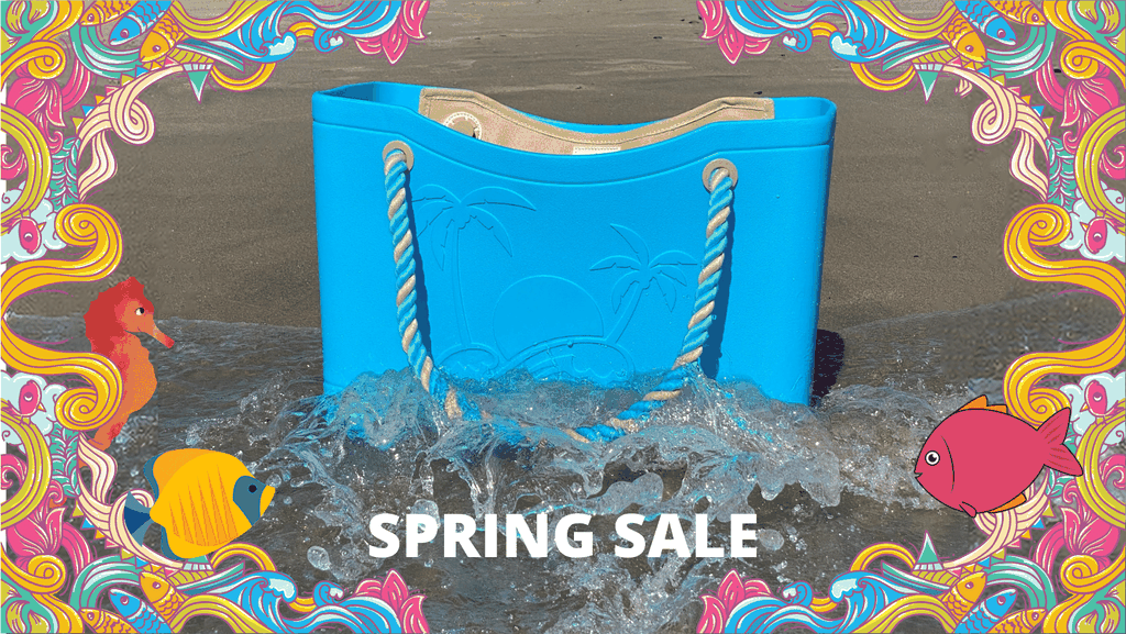 Aqua SunBagg Spring Sale Banner