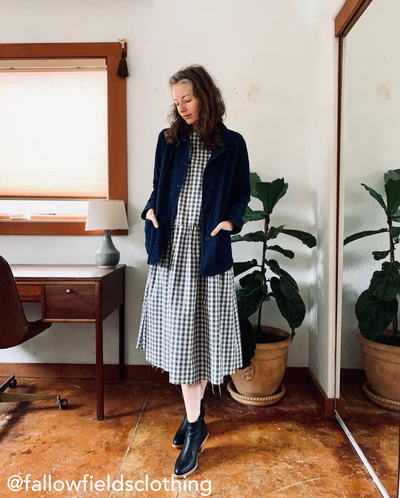 Women's Denim Chore Jacket | Tradlands Classic Denim Chore Coat
