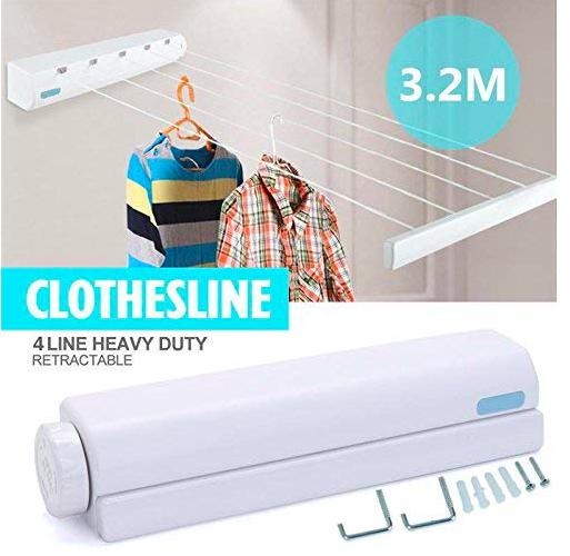 wayinz 3.2m long clothesline