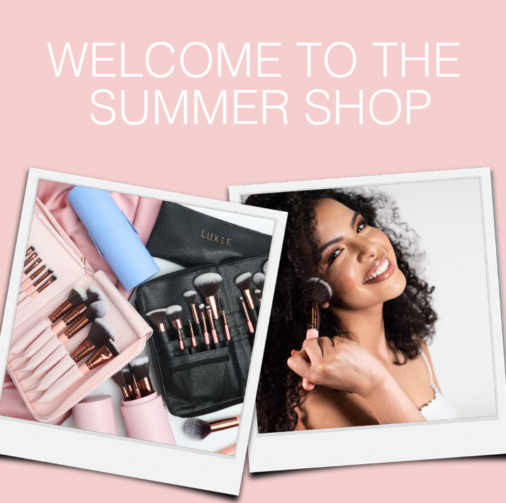 Welcome to the Summer Shop. Save up to 50% on Luxie's best selling sets