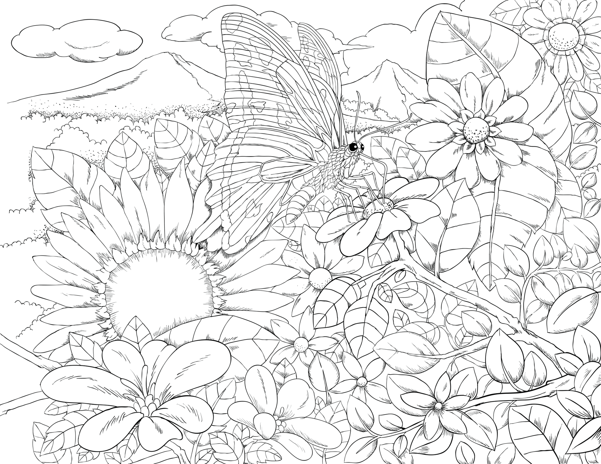 ColorIt Freebie Friday Colors of the Jungle 2021-03-26