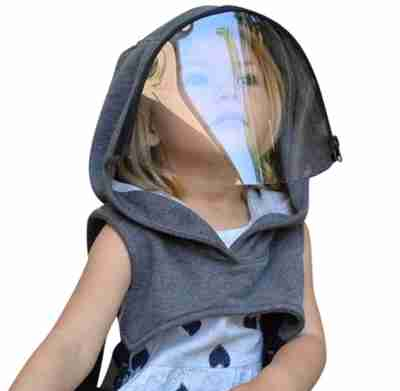Kids Hooded Transparent Face Shield - Infant Kingdom