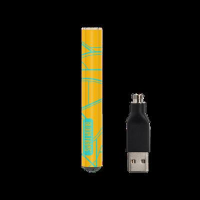 Tangerine & Teal Geometric HIGHLIGHTER® Battery