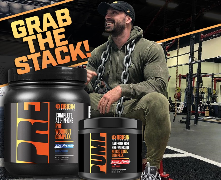 Bradley Martyn's Pre Workout Super Stack