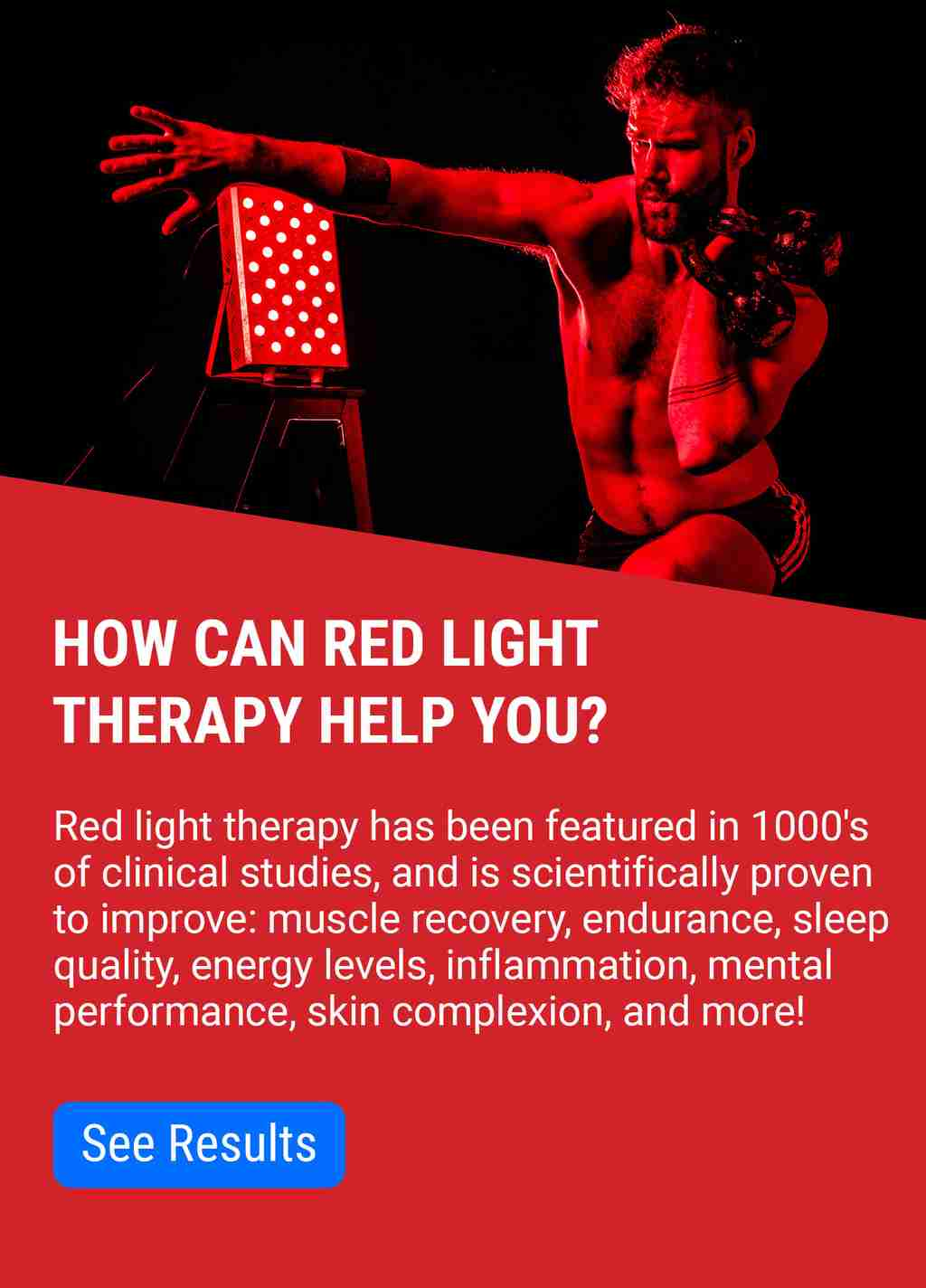 How can red light therapy help you?