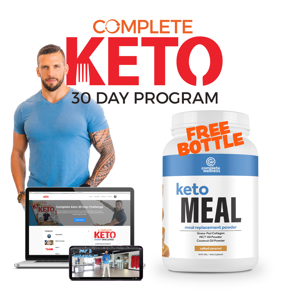 Complete Keto 30-Day Challenge with Drew Manning