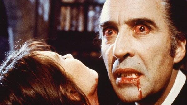 Vampire Blood on Face Bloodshot Eyes