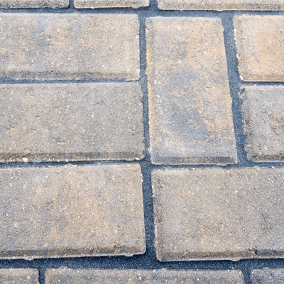 Charcoal with Multi-colored Gray Pavers