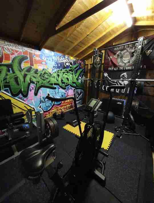 This week's epic Wolverson Fitness home gym setup