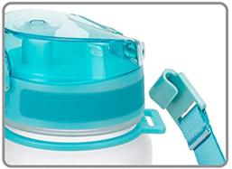 Detachable Handle 17oz Aqua White
