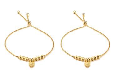 Heart of Gold Adjustable Bracelet