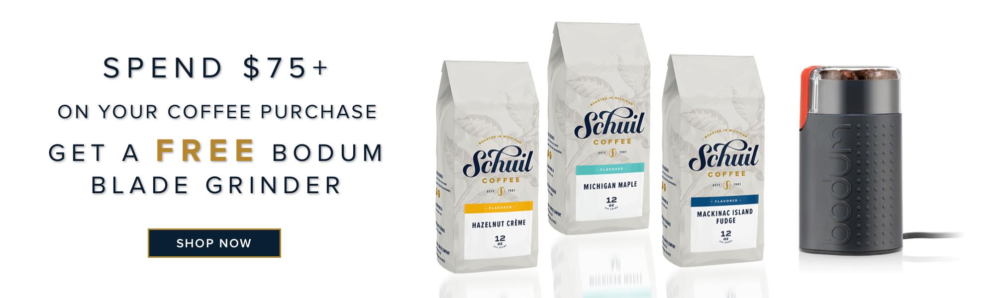 Schuil Coffee Free Bodum Blade Grinder