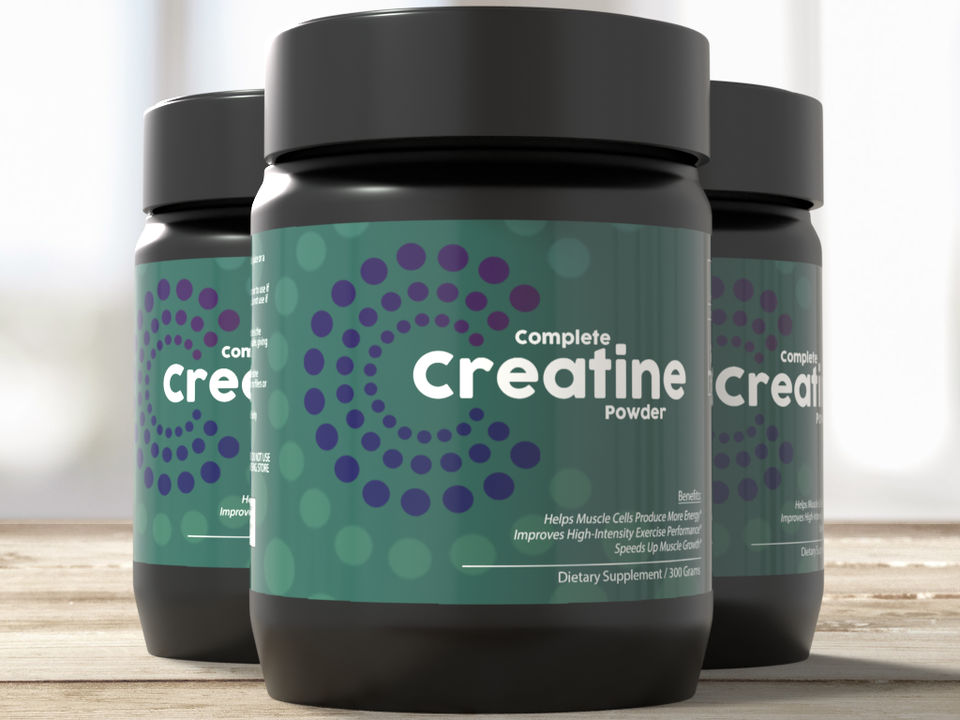 3-Pack: Complete Creatine