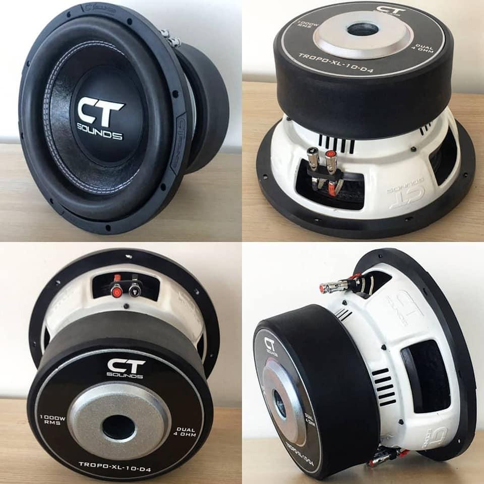 CT Sounds Tropo XL 1000 Watt RMS Subwoofer