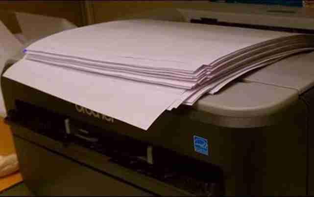 printer terlalu banyak mencetak